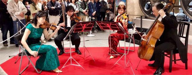 クライネス・コンツェルトハウス四重奏団コンサート予定